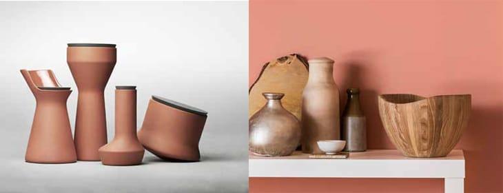 Trend Terracotta skålar och vaser