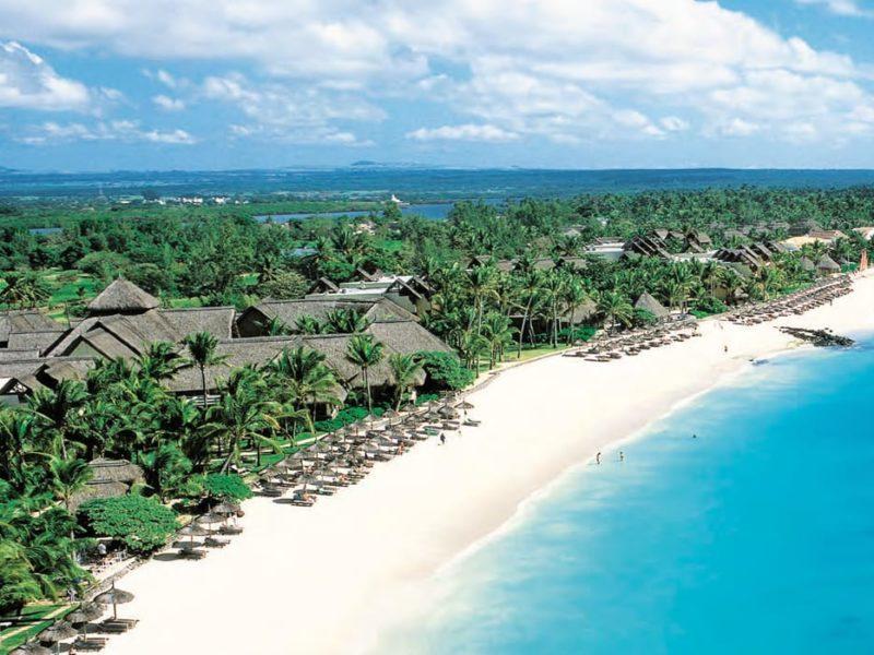 Exklusiva Constance Belle Mare på Mauritius