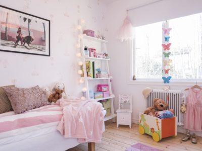Barnens rum börjar ta form…