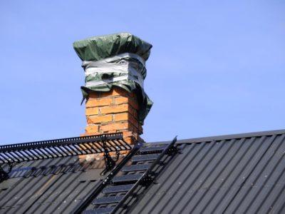 FIxad skorsten och fasad.