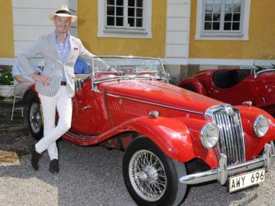 Connoisseurs motordag på Steninge Slott. Fler event tack!