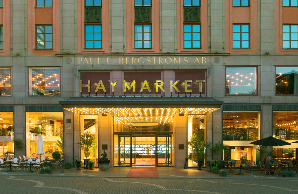 Art deco-hotell, Haymarket by Scandic med Inspiration My Home