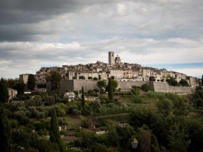 Vår weekend resa med vänner till Saint Paul de Vence, Frankrike
