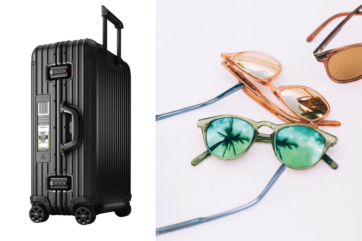Go gadegt Go - Chimi Eyewear och Rimowa väska