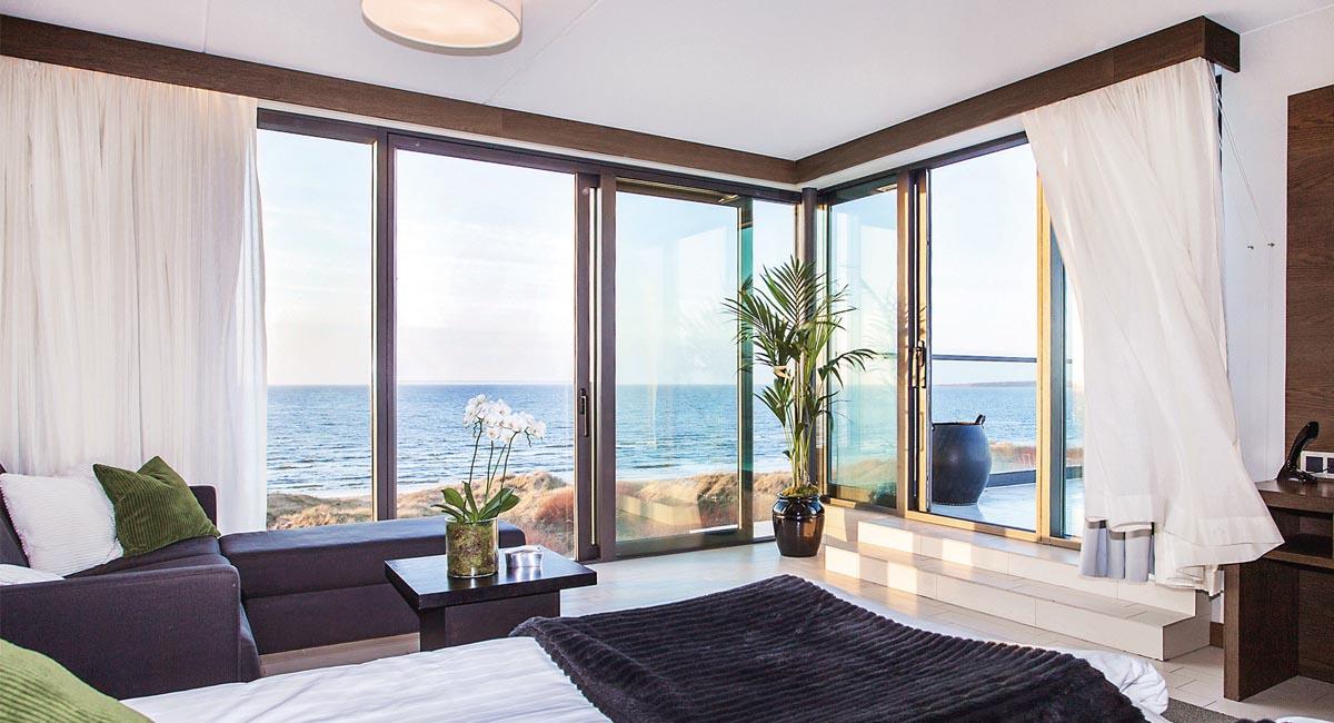 Hotel Tylösand - moderna rum med havsutsikt