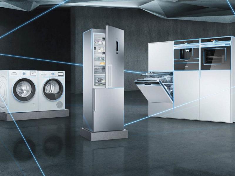 Siemens med appen Home Connect
