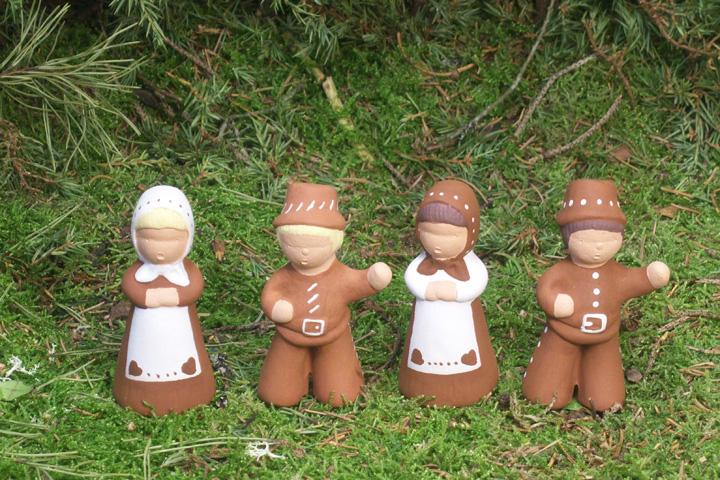 Vinn pepparkaksfigurer från Yourstone keramik