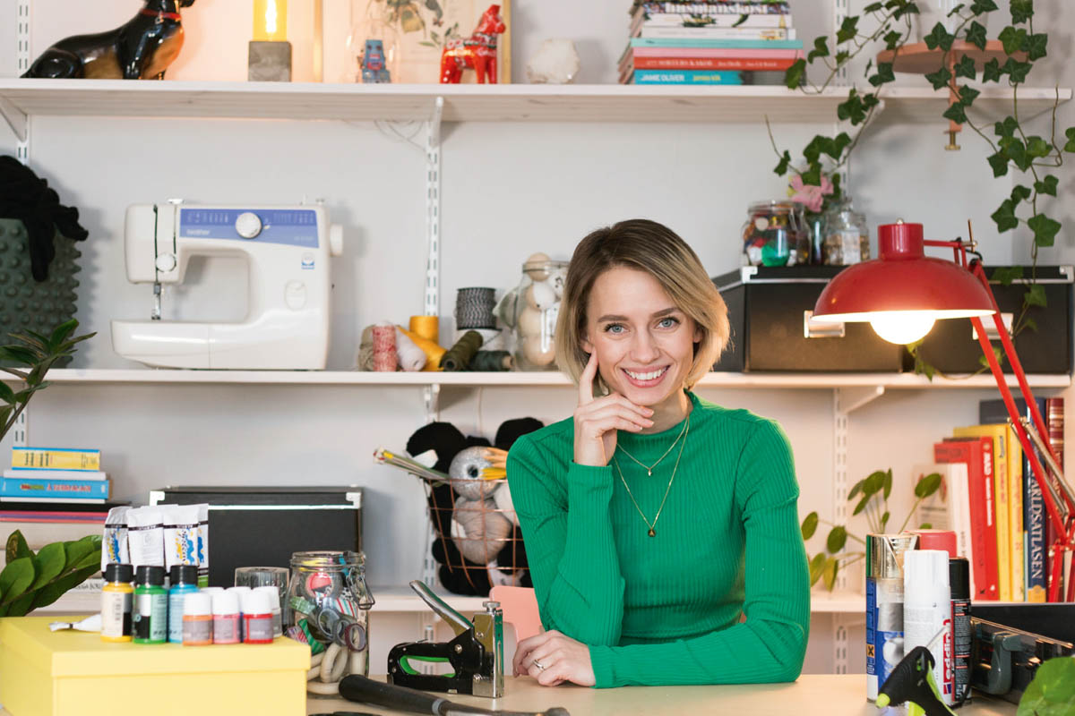 Anna-Maria Larsson vårt nya DIY-proffs!