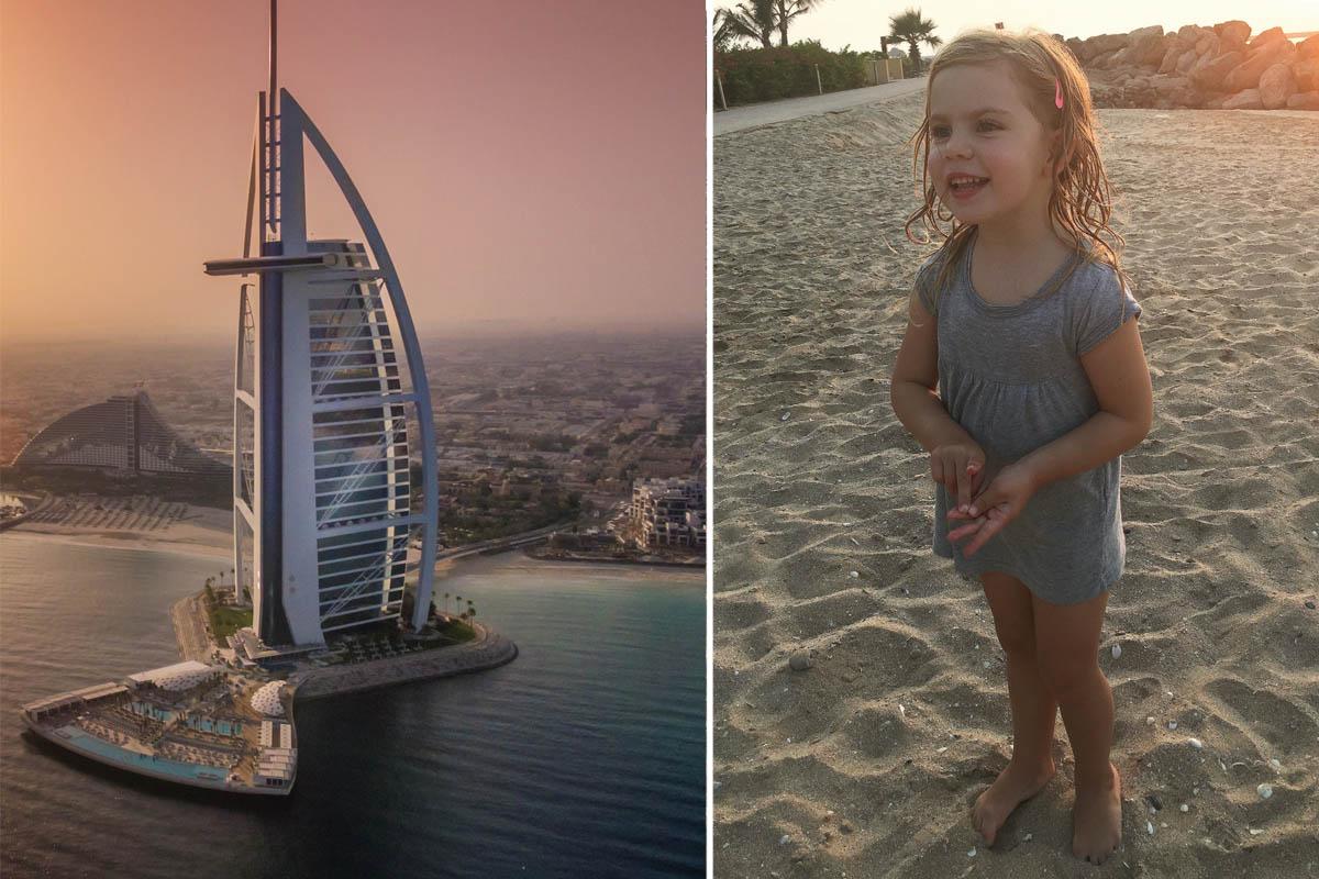 Familjeresa Dubai