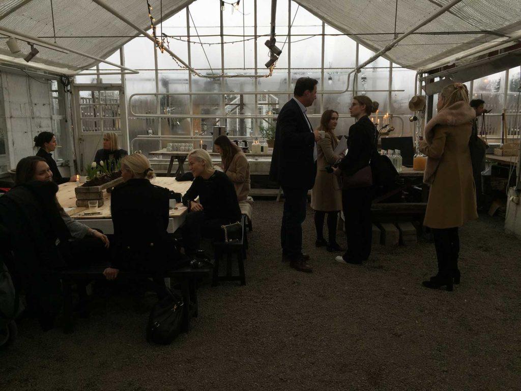 PerPr arrangerade en pressdag i Rosendahls Trädgård en pressdag med olika spännande leverantörer.