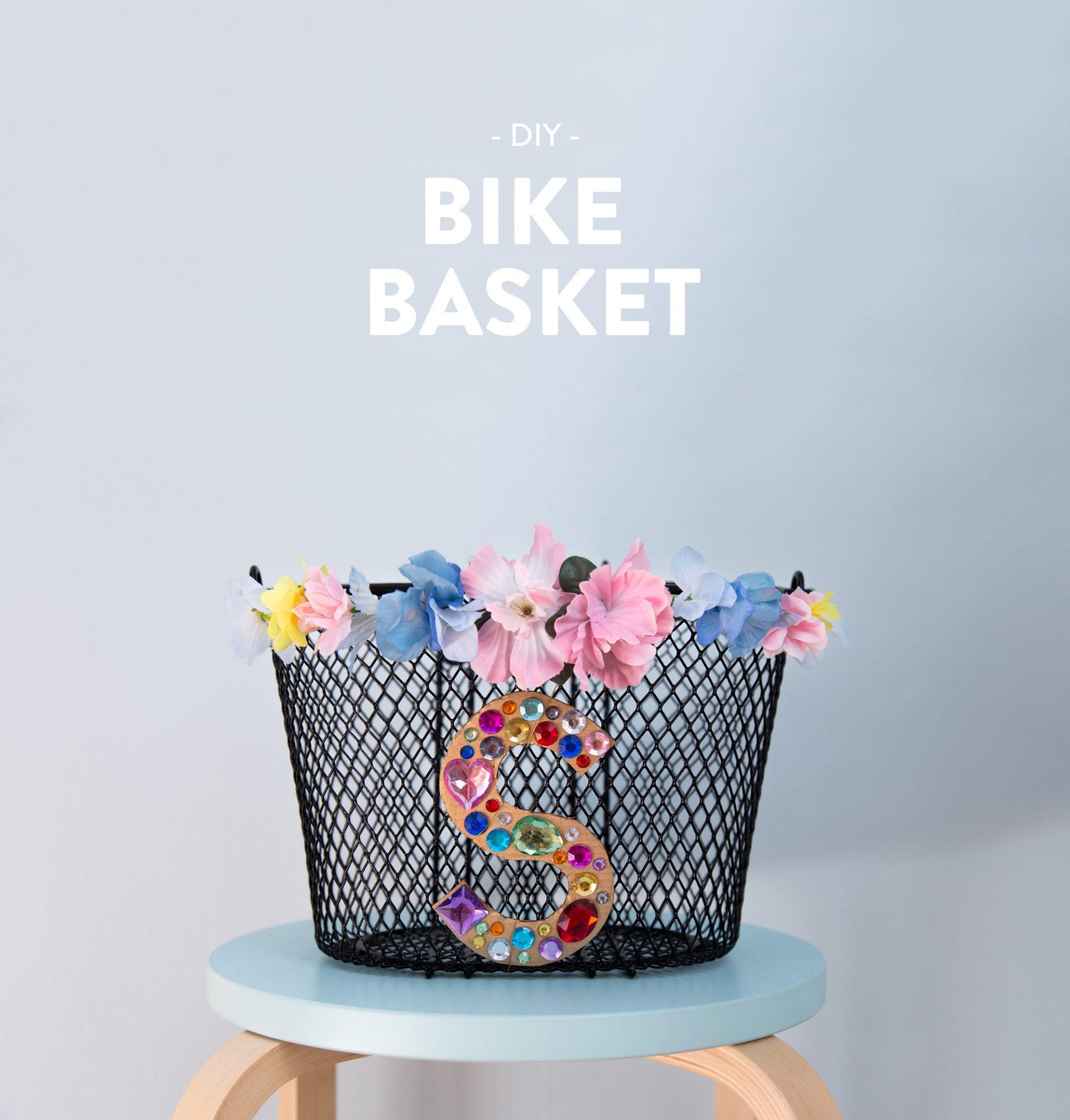 DIY - Snygga till din cykelkorg |Anna María