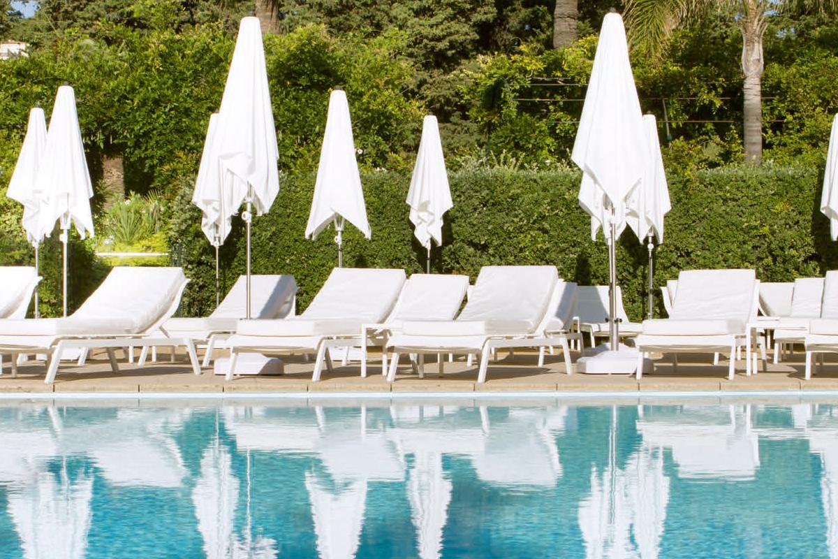 Underbara Cap Ferrat - Hotel Royal Riviera pool