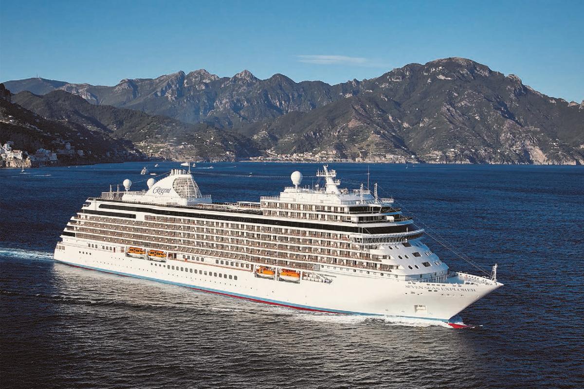 Regent Seven Seas Explorer - Kryssning