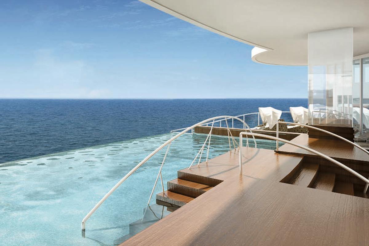 Regent Seven Seas Explorer - enastående pooler