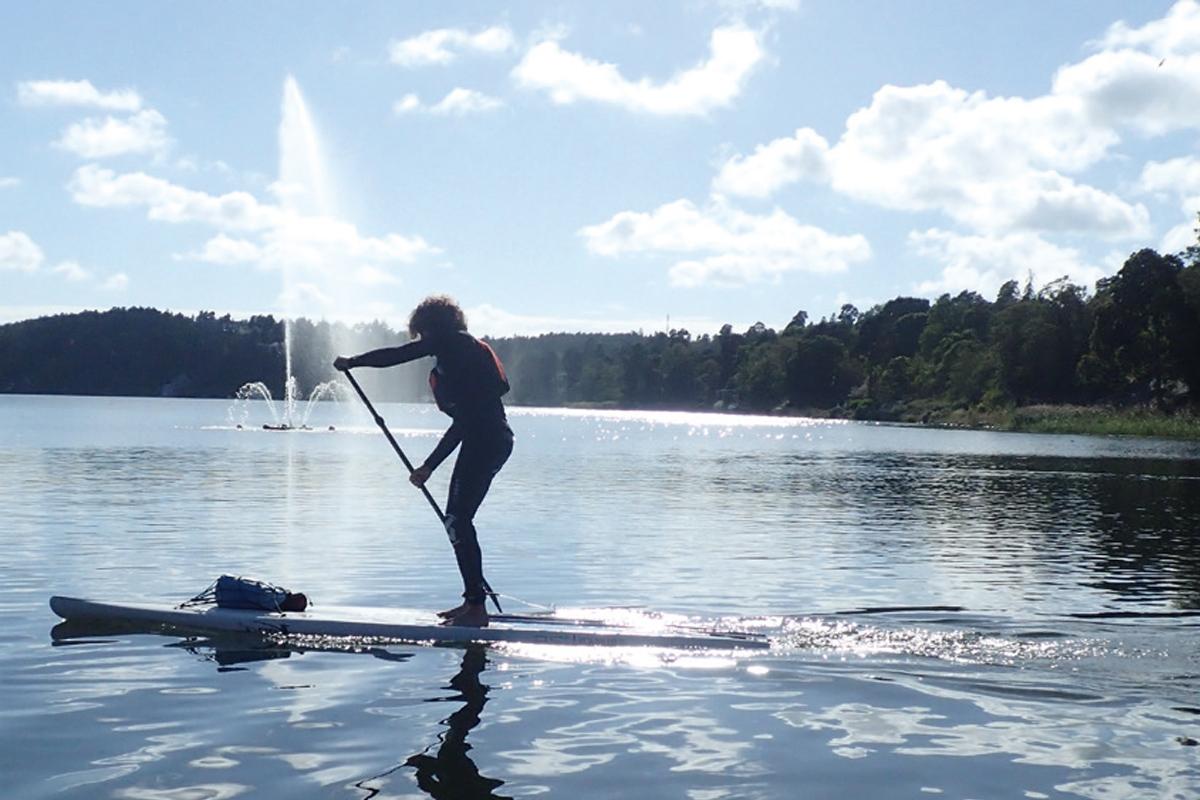Hälsa och skönhet sommar 2017 - Standup Paddle Board