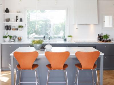 Vårt nya kök – en dröm i grått