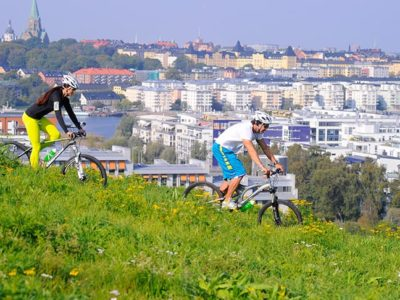 Team work  – Cykling, jogg  & parpepp