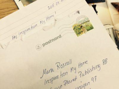 Det kom ett brev…