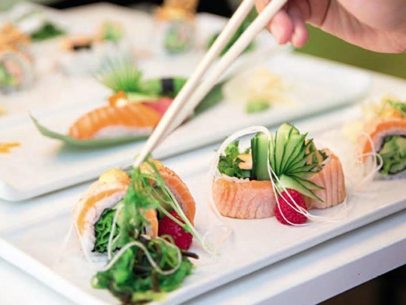 Sushiskolan med Sushi Huset