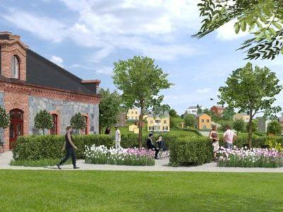 Våra nya grannar, en hel ny by kommer att byggas!