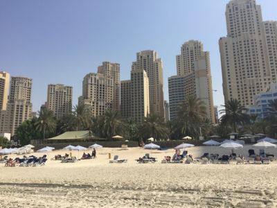 Ninjor på riktigt, city-Dubai och blandade känslor