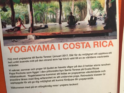 Ge dig själv världens bästa present – yoga och surf i Santa Teresa!